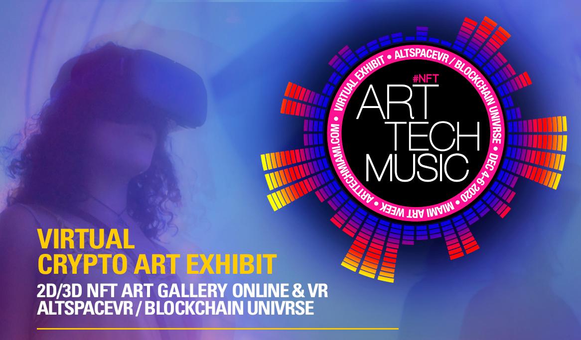art tech music 2020 + crypto artists