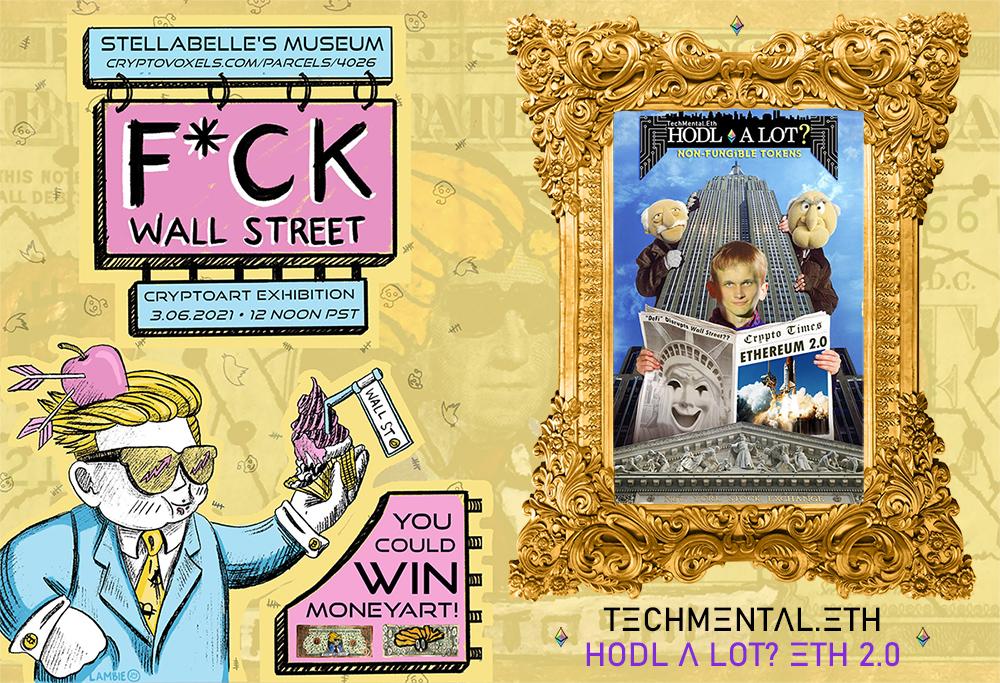 techmental crypto art