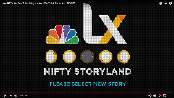NBC NFT CRYPTO ART TECHMENTAL