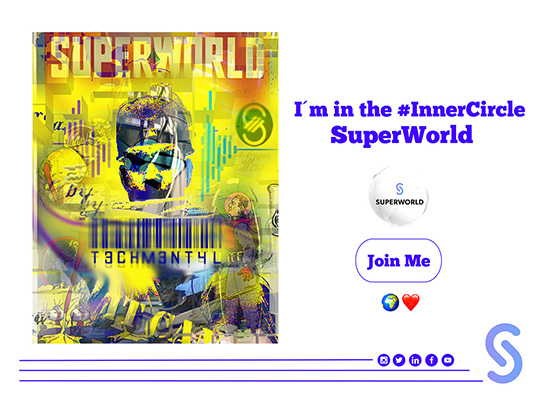 SUPERWORLD NFT CRYPTO ARTIST