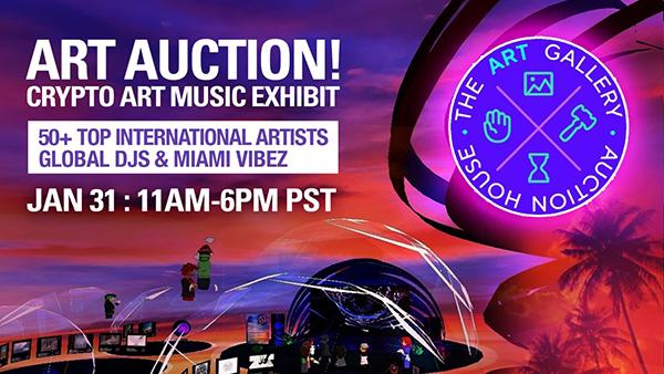 art tech music auction